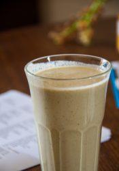 Pinda-bananensmoothie