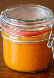 Suikervrije abrikozenjam met agar